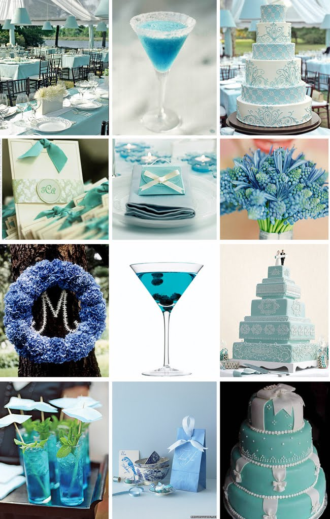 From The Flowers To Candleirror Everything Just Goes Together So Well Tiffany Blue