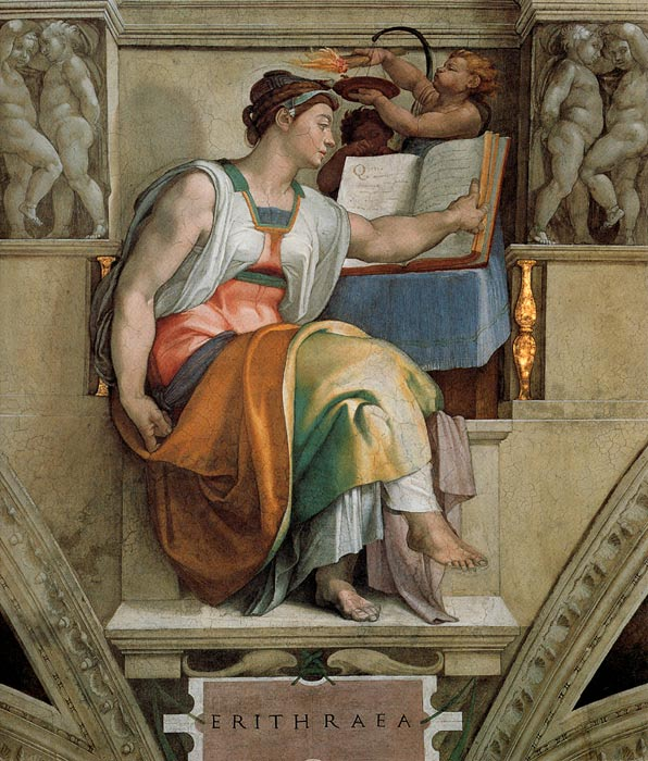 An analysis of the paintings and works of art in the sistine chapel by buonarroti and michelangelo