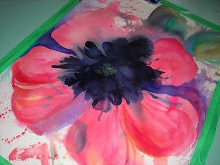 Killer Poppy painting by Angela Fehr