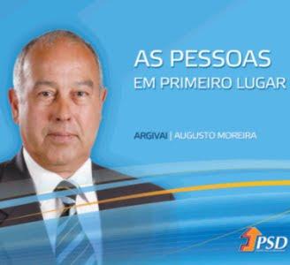 AUGUSTO MOREIRA: Presidente da Junta de Freguesia de Argivai