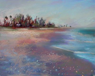 Turner Beach Sanibel Island Painting