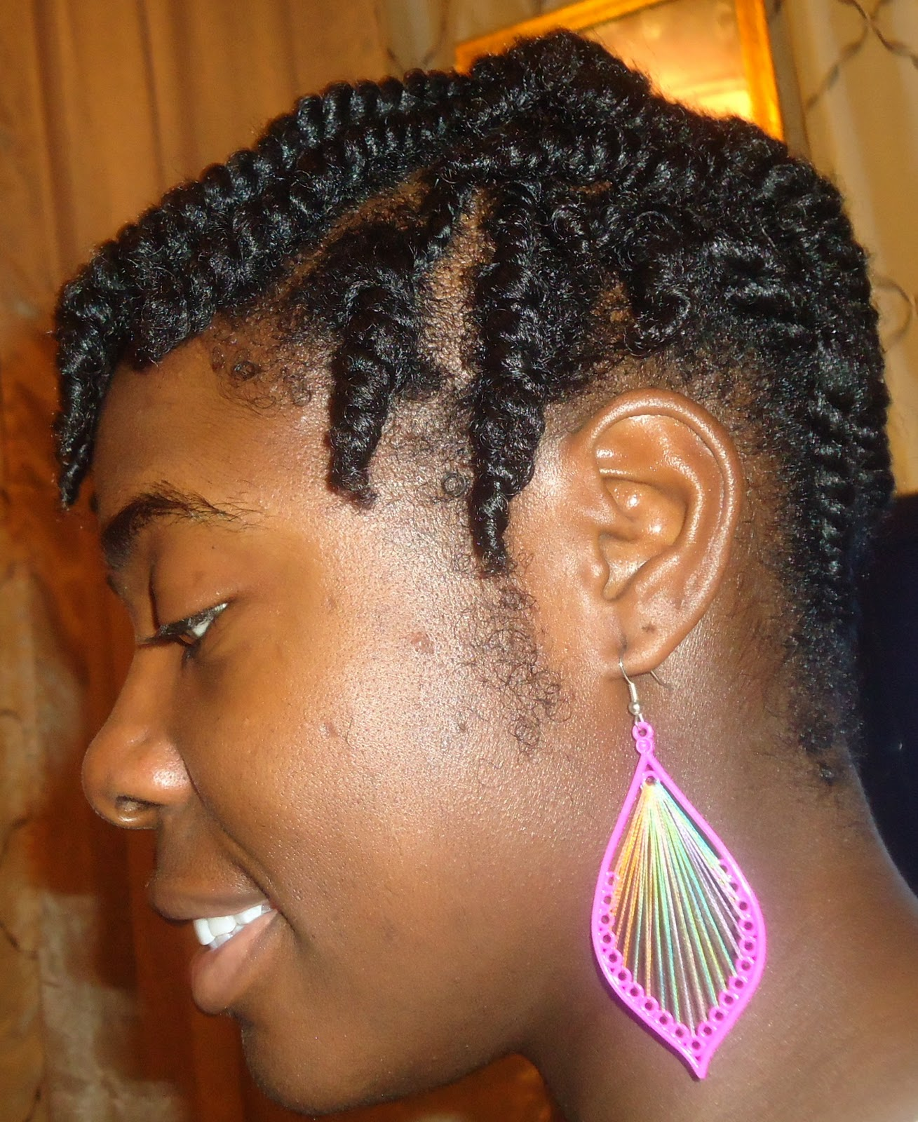 New Hair Style Big Slanted Flat Twists In Back And Flat Twist Out Kinkycurlycoilyme