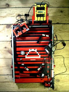 LEGO-pinball-Machine
