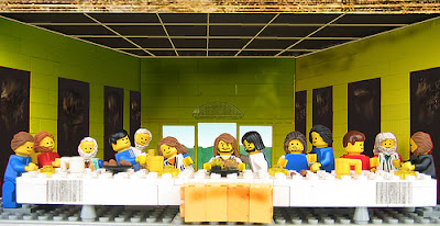 The Last Supper in LEGO edition