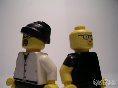 Mythbusters LEGO Minifigs