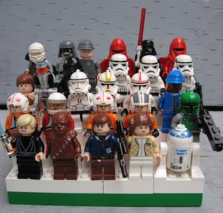 Star War minifigs