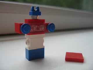 OPtimus Prime LEGO Microscale