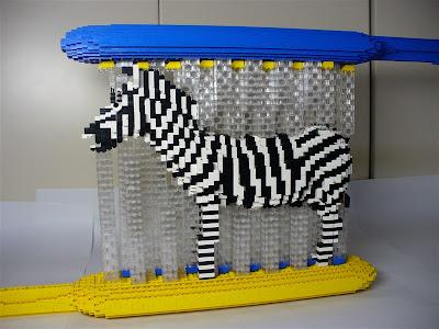 Lego-Zebra
