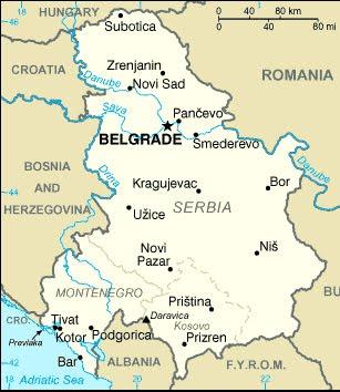 varvarin srbija mapa srbija: КАРТА СРБИЈЕ varvarin srbija mapa