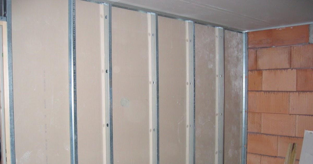maison mikit montage cloison s paration garage. Black Bedroom Furniture Sets. Home Design Ideas