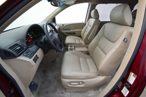 The Van I Drove Was A 2008 Odyssey EX L (the L Stands For Leather, And Is  The Second Highest Trim Line Behind The Touring Model), Equipped With  Satellite ...