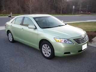 If Driving A Prius Tells The World That You Care About Environment Then Bright Green Camry