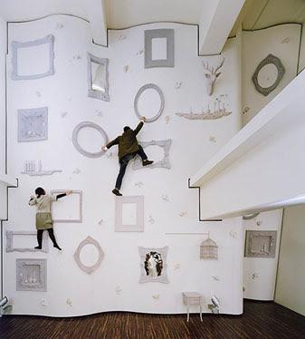 Rockett St George UK Design Junkies: My Kind Of Climbing Frame.