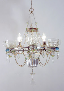 Rockett St George UK Design Junkies: Chandeliers by Madeleine Boulesteix :  indie handcrafted diything madeleine bouleste