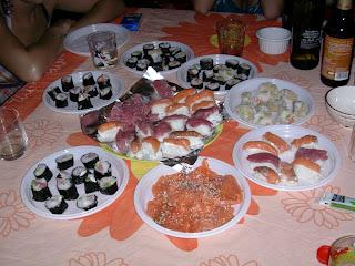 Sushi, sahimi e nigiri fatti in casa