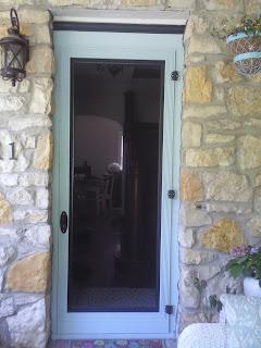 Cottage Of Stone Diy Build Your Own Screen Door