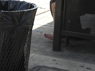 Homeless foot
