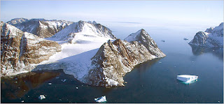 Warming Island, Greenland, in 2006