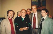 Il Cappellano del Beccaria Don Gino Rigoldi con Rio Paolo e Pizzul
