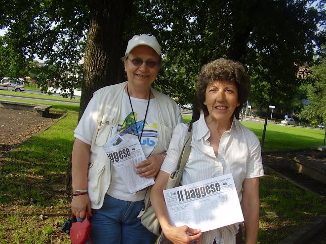 Due lettrici de il baggese.. nel famoso Parco delle Cave!