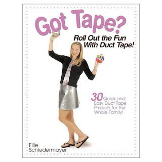 duct tape wallet book