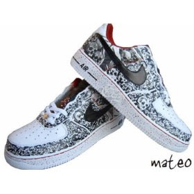 costum nike shoes picture