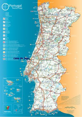 Welcome to the Silver Coast of Portugal location maps