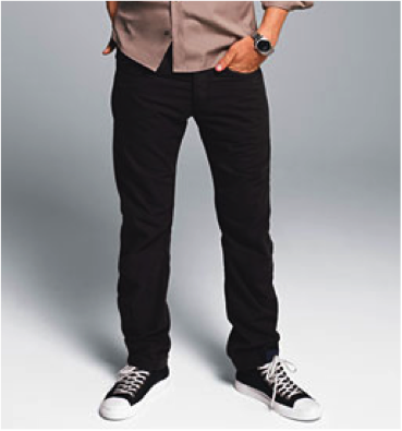 Kjøpte jeans bukser fra Jack and Jones, ser helt jævlig ut