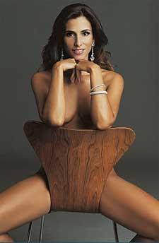Monica Veloso Nua na Playboy de Outubro