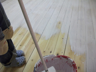 Varathane Floor Sander >> Mary Ann's Corner!: Floored!!!!