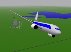 Screenshot Game YS Flight Simulation