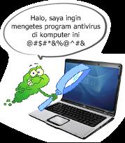 virus pengetes antivirus