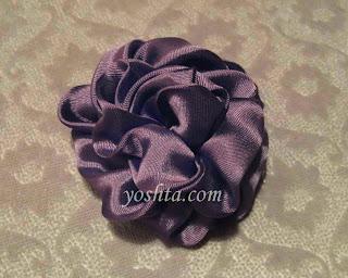 Re: Цветы из ткани - это несложно!