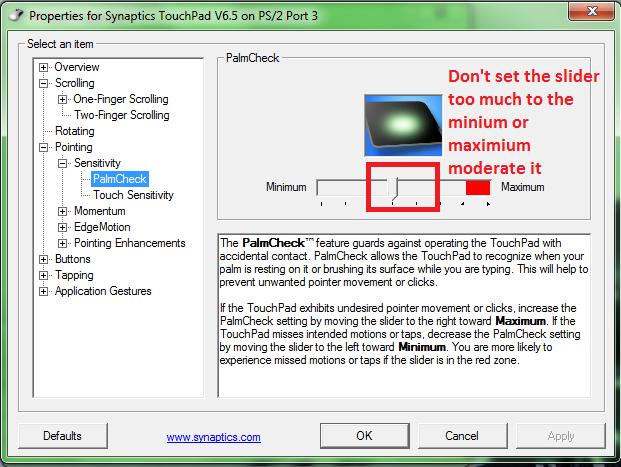 Synaptics Touchpad driver Fedora