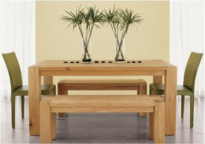 Big Sur Dining Table From Crate Barrel In Combination With Two Benches Would Present A Perfect Set For Someone Who Loves All Natural Wood