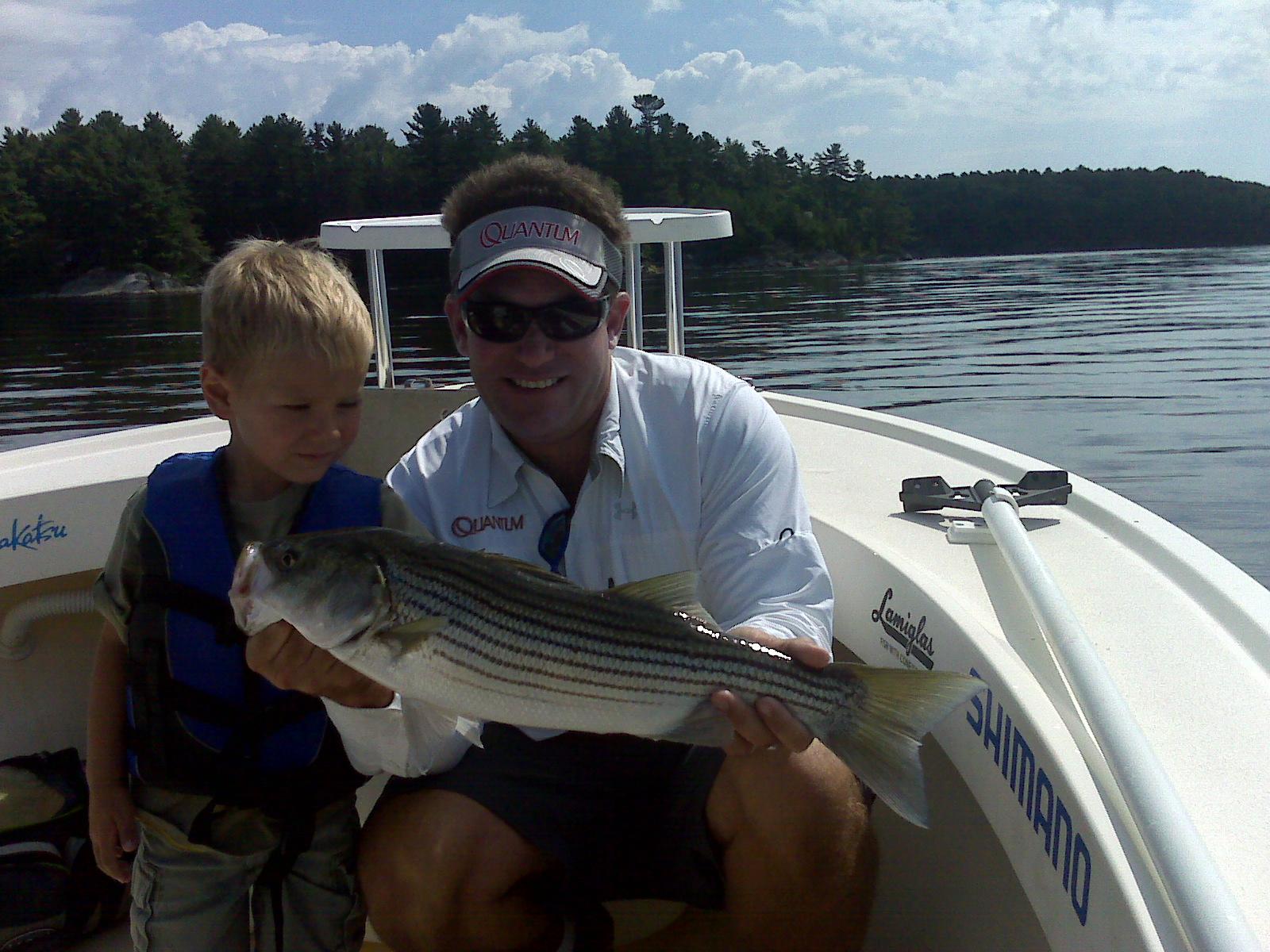 Maine Striper Fishing Charters & Reports Hotline 207-691