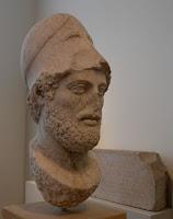 Busto de Péricles c. 495 BC – 429 aC por Cresilas, Altes Museum, Berlin
