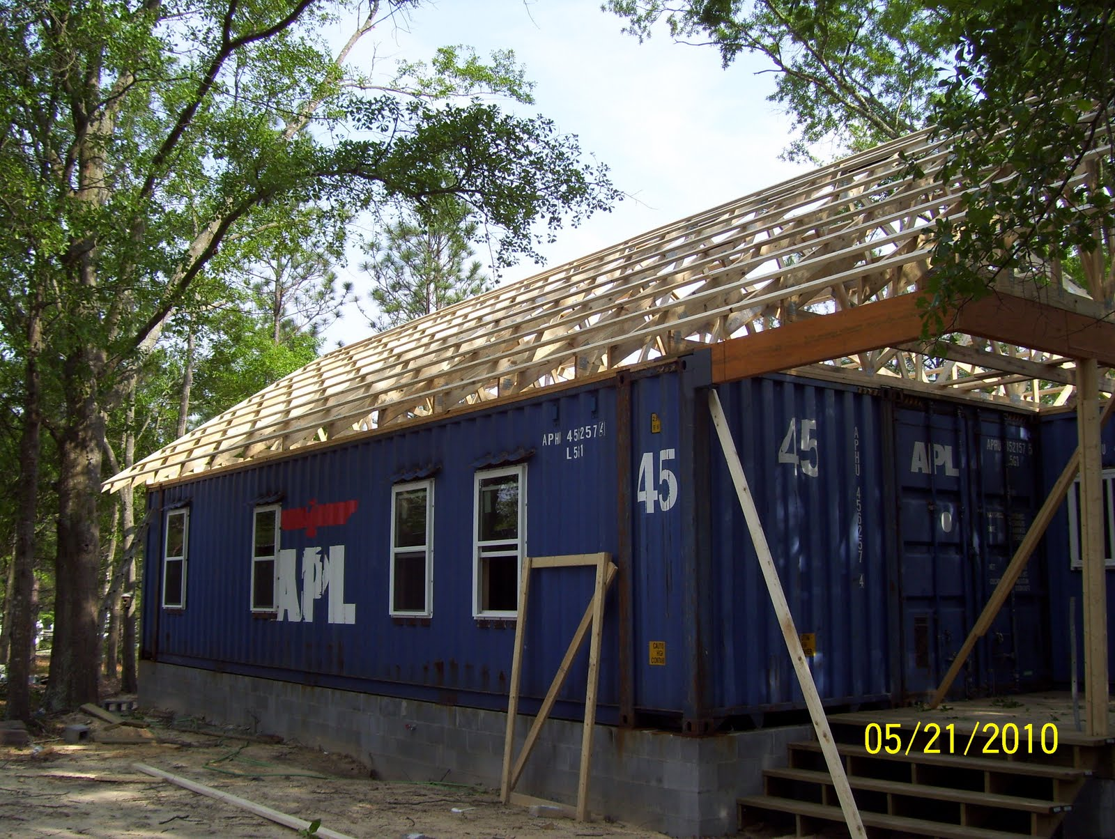 Container House Roof Trusses