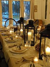 Thanksgiving Table Ideas Setting