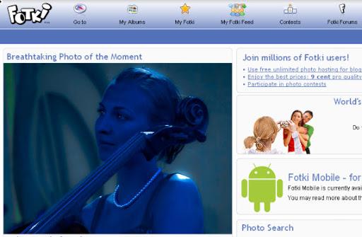 Compartir Fotografías en Línea - Fotki - menteprincipiante.com
