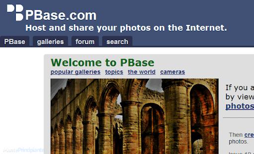 Compartir Fotografías en Línea - PBase - menteprincipiante.com