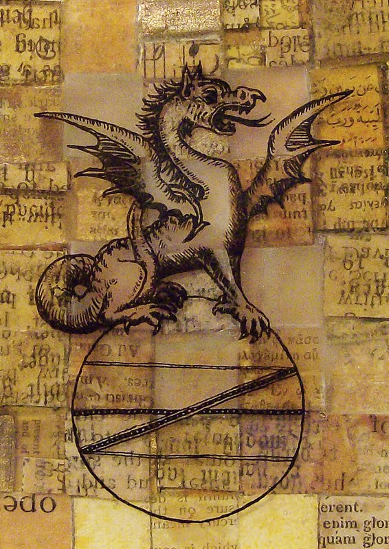 Alchemical Emblems  Occult Diagrams  And Memory Arts  Dragon