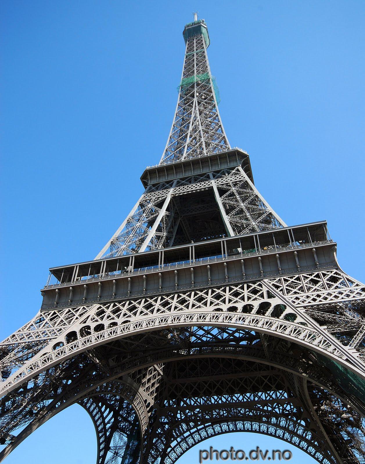 Holiday Destination Eiffel Tower The Great Wonder World