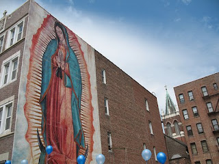 Our Lady of Guadalupe Prayer Mural