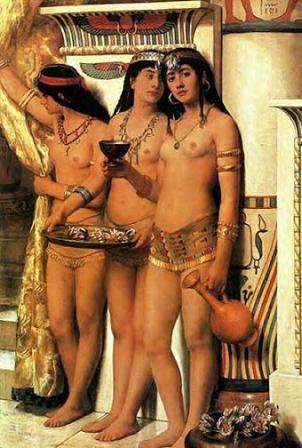 Nude Egyptian Woman 33