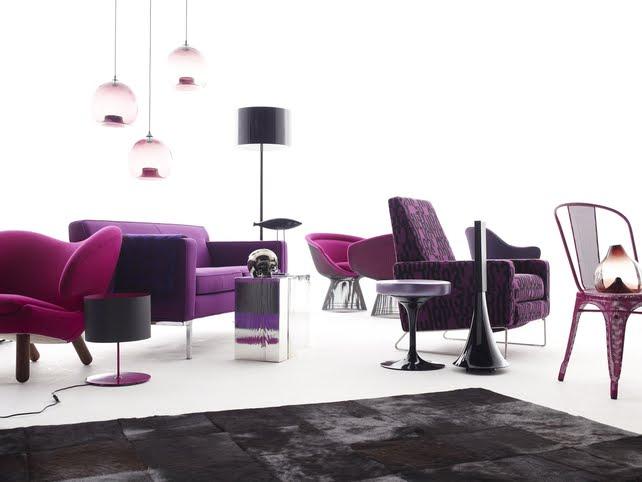 Creative Influences: Purple Sofas