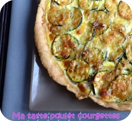 Cake Courgettes Poulet Tomates Sech Ef Bf Bdes
