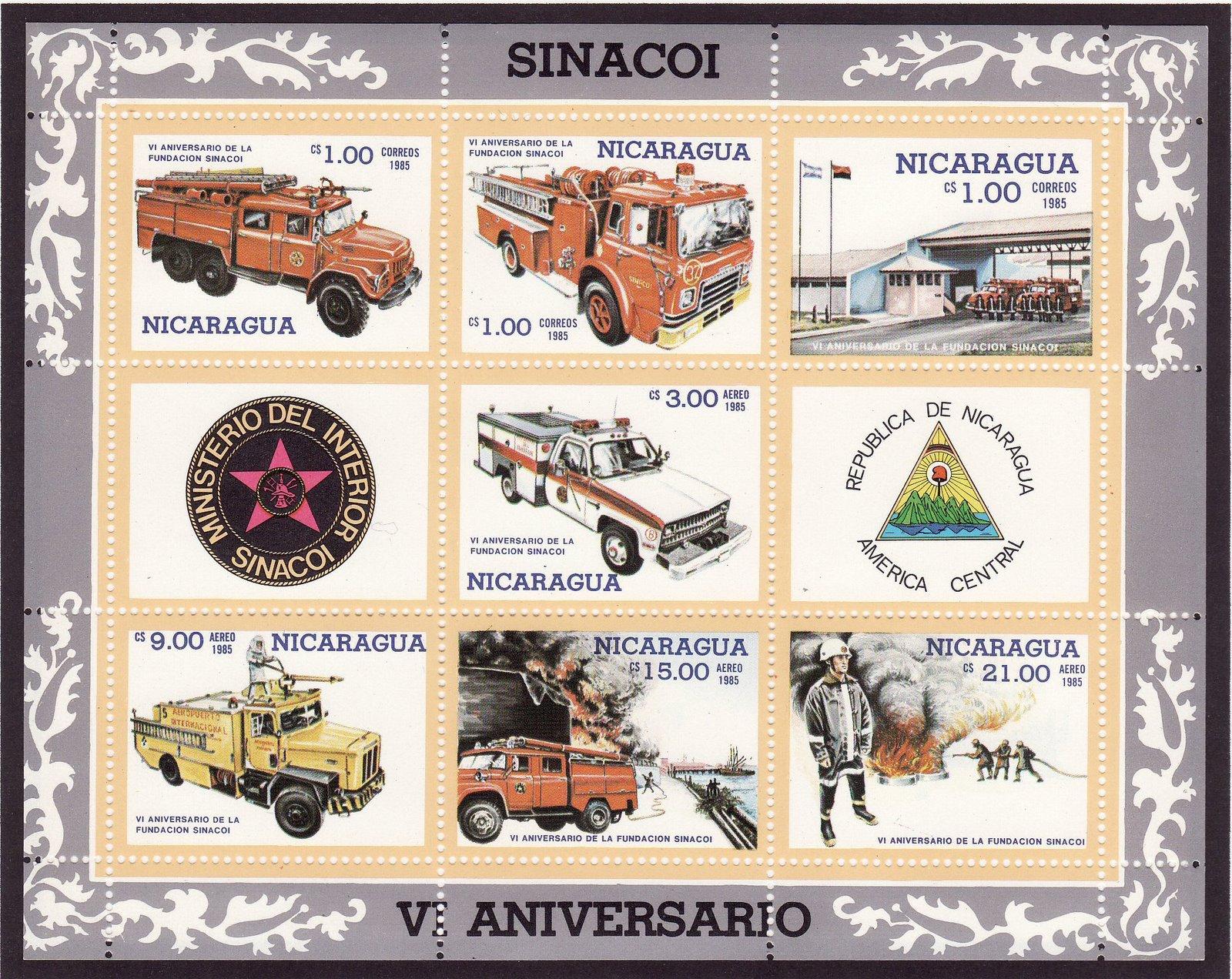 Sellos de bomberos vi aniversario de la fundaci n sinacoi for Sello del ministerio del interior