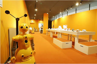 The Robot Museum in Nagoya, Japan.