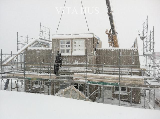 Holzhaus, Schwedenhaus, Elementbauweise, Hausaufbau